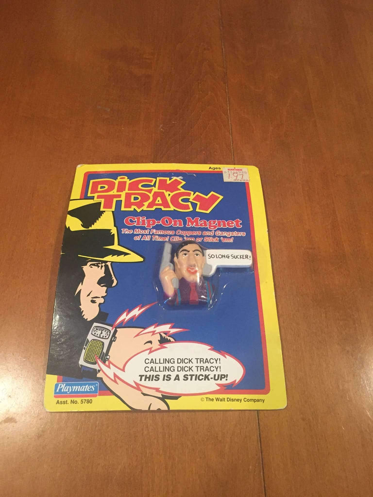 "Dick Tracy 1990 Al ""Big Boy"" Caprice Clip-On Magnet Playmates Toys NIP Disney"