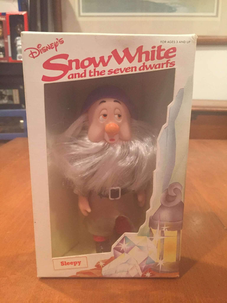 1980's Snow White and the Seven Dwarfs Sleepy Action Figure by Bekin Express