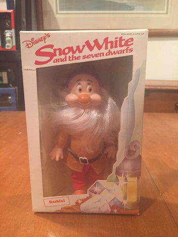 Snow White and the Seven Dwarfs Bashful Action Figure by Bekin Express