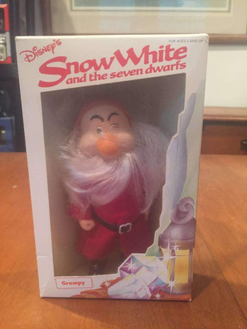 1980's Snow White and the Seven Dwarfs Grumpy Action Figure by Bekin Express