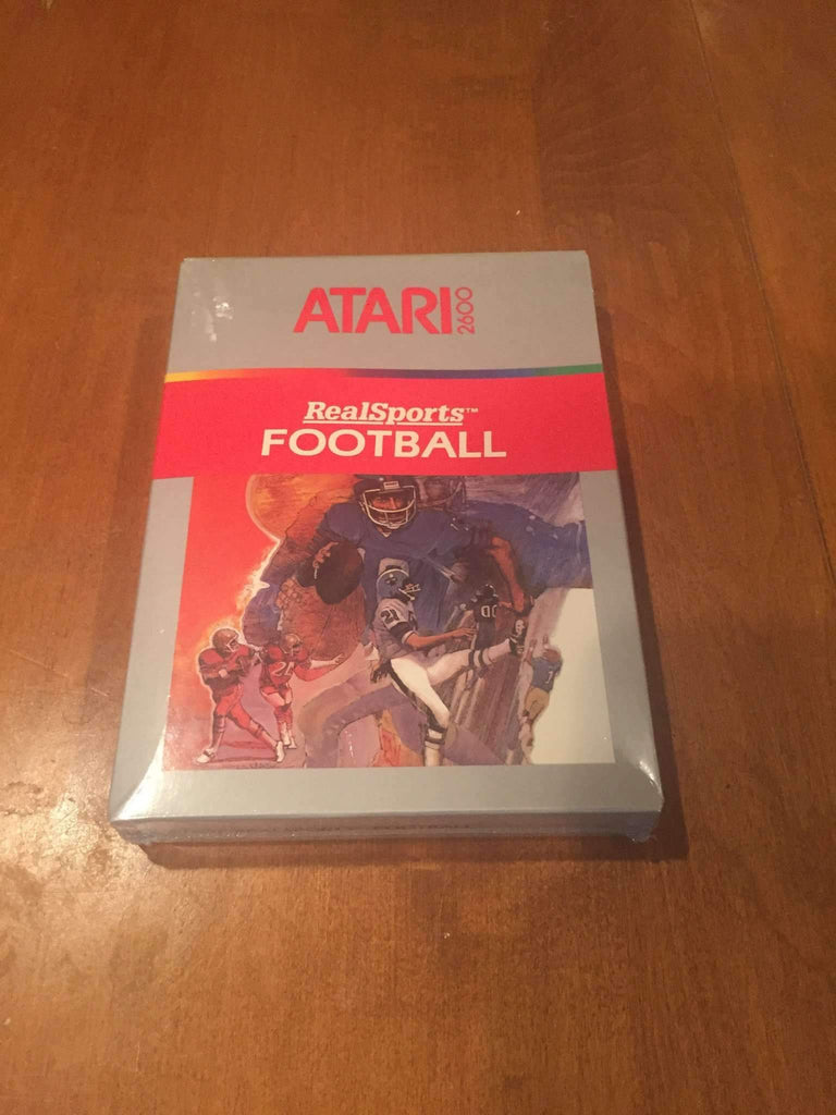 1982 Real Sports Football Video Game by Atari 2600