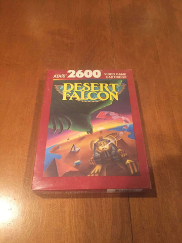 1987 Desert Falcon Video Game by Atari 2600