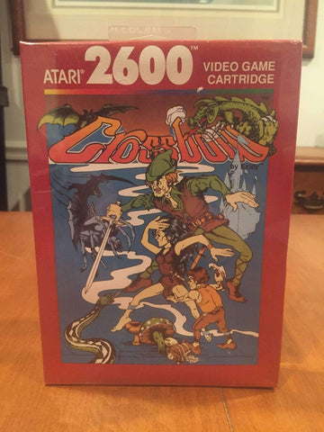 1988 Crossbow Video Game by Atari 2600