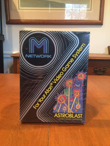 Atari 2600 1982 M Network Astroblast Video Game by Mattel Electronics