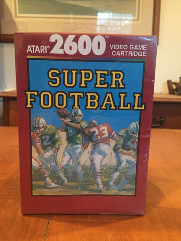 1988 Super Football Video Game by Atari 2600