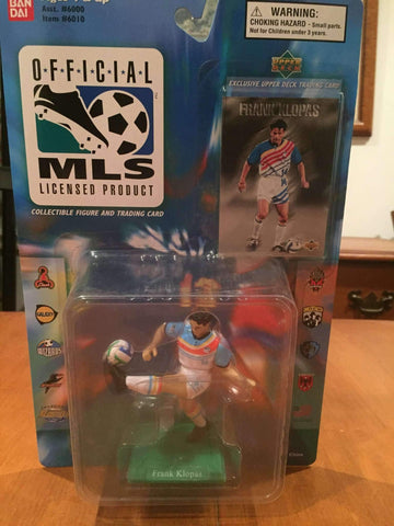Frank Klopas Kansas City Wizards MLS action figure by Ban Dai