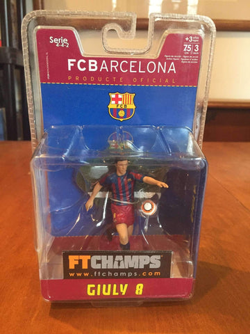Giuly FC Barcelona Action Figure by FT Champs