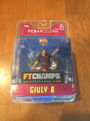 Giuly FC Barcelona FT Champs Action Figure Serie 4-4-2 NIB France NIP Barca