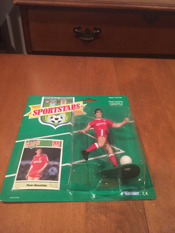 1989 Sportstars Peter Beardsley  Liverpool Reds FC action figure by Kenner