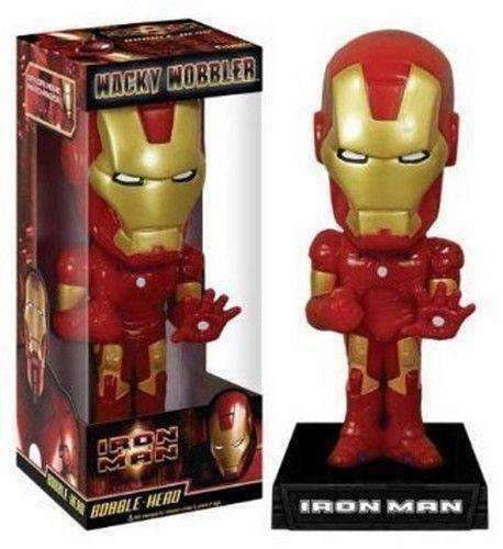 Iron Man Wacky Wobbler Bobblehead NIB NIP Marvel new in box new in package