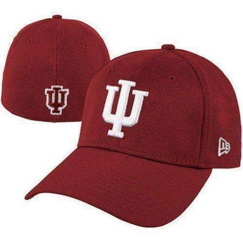 Indiana Hoosiers New Era 39Thirty Hat Large-XL Fit