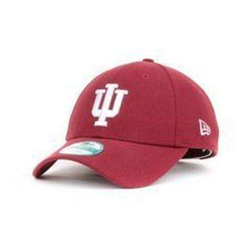 new style edf03 1e25a Indiana Hoosiers New Era 39Thirty Hat Large-XL Fit