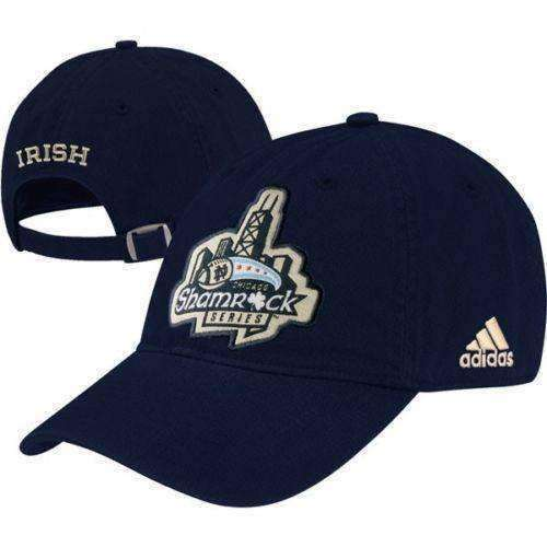 Notre Dame Fighting Irish Football Shamrock Series Chicago hat Adidas new with stickers ND