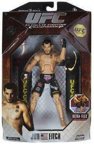 Jon Fitch UFC action figure NIB Jakks Pacific MMA Ultimate Fighting Championship