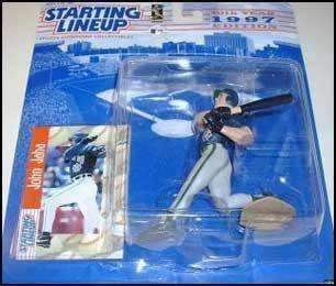 1997 John Jaha Milwaukee Brewers Starting Lineup MLB Action Figure NIB NIP Brew Crew New in Package
