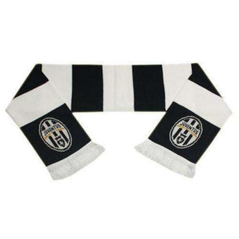 Juventus FC Jaquard Bar Scarf new with tags NWT Serie A Forza Juve Italy Soccer new with tags