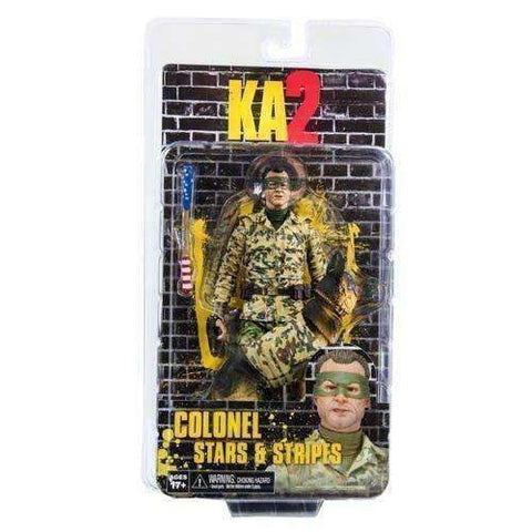 KA2 Movie Colonel Stars & Stripes Action Figure new Jim Carey NECA 7 inches