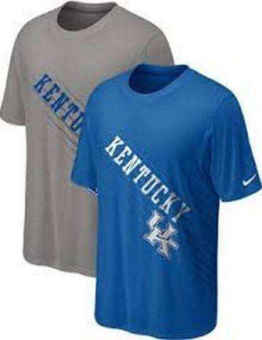 Kentucky Wildcats Youth t-shirt Nike Dri-Fit UK NCAA NWT SEC CATS Gray only new with tags