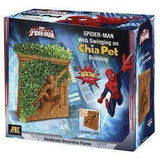 Spider-Man Web Swinging on a Chia Pet Building New in Box Marvel Ultimate by Joseph Enterprises