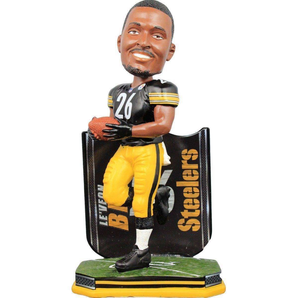 f9b34953c35 Le Veon Bell Pittsburgh Steelers Name Plate Bobblehead by Forever  Collectibles