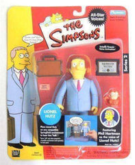 The Simpsons Lionel Hutz World of Springfield Interactive Figure by Playmates