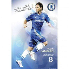 Frank Lampard Chelsea FC poster by GB Eye