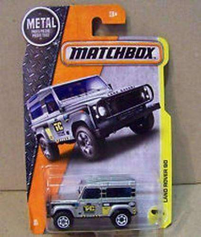 2016 Matchbox Taylor Construction TC Land Rover 90 NIP NIB 48/125
