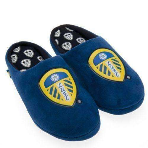 Leeds United Slippers FC NWT English Premier League new with tags LUFC Soccer