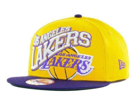Los Angeles Lakers NBA Snapback hat New Era LA new original packaging Basketball