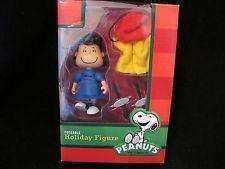 Lucy with Removable Coat Skates and Hat Peanuts Poseable Holiday Figures New in Box Forever
