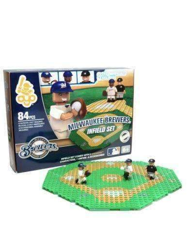 Milwaukee Brewers MLB Infield Set by Oyo Sports