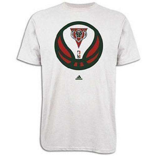 Milwaukee Bucks t-shirt by Adidas size 2XL