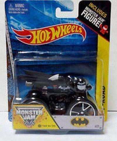 2014 Hot Wheels Monster Jam 4x4 Batman Off Road NIB Mattel Monster Jam Figure