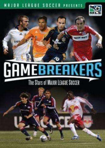 Game Breakers The Stars of Major League Soccer DVD 2008 MLS USA New Soccer