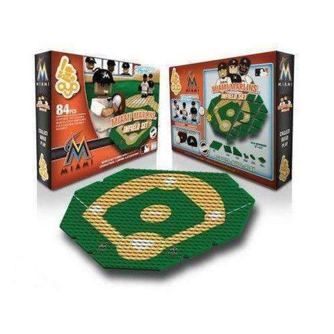Miami Marlins MLB Infield Set by Oyo Sports