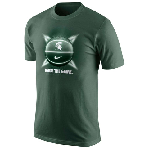 Michigan State Spartans Basketball Rasie The Game Nike Dri-Fit t-shirt size Large