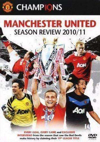 Manchester United Season Review 2010/11 DVD new MAN U Red Devils English Premier
