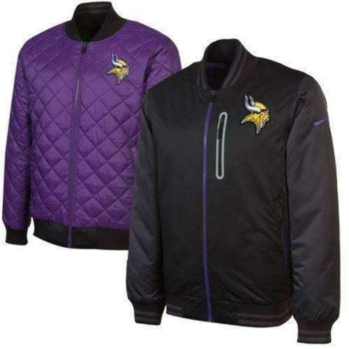 buy online d4fb9 fe25c Minnesota Vikings Nike NFL Destroyer reversible jacket NWT VIKES new with  tags