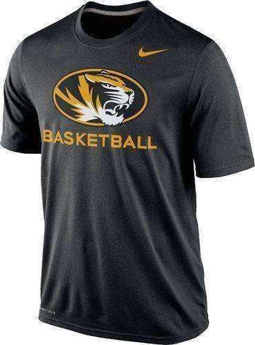 Missouri Tigers Basketball Dri-Fit t-shirt by Nike Mizzou