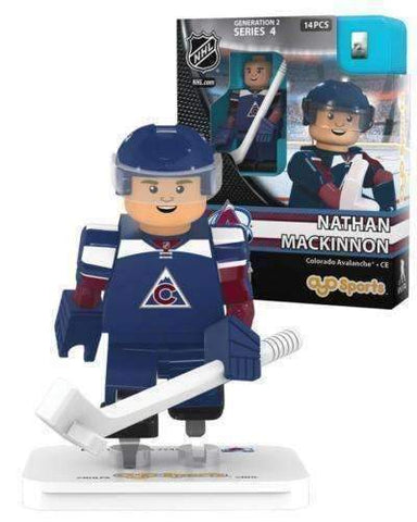 Nathan Mackinnon Colorado Avalanche Generation 2 Series 4 NHL Player minifigure by Oyo Sports