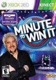 Minute to Win It Xbox 360 Kinect NIB Zoo Publishing NIP NBC Guy Fieri new sealed