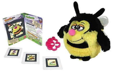 MushABellies Buzzie Bee 3D AR App Plush Toy by Jay@Play