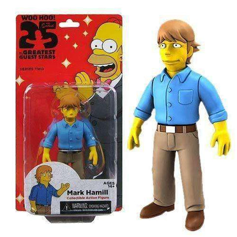 Mark Hamill The Simpsons 25 of the Greatest Guest Stars Series 2 Action Figure New in Box NECA