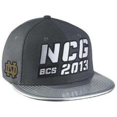 9a19c1515d7 Notre Dame Fighting Irish 2013 National Championship Game Snapback Hat by  Nike ...