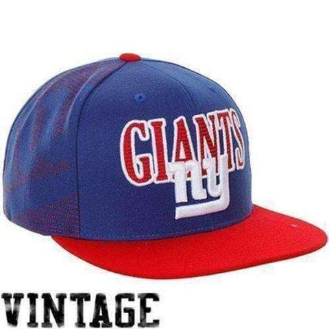 New York Giants NFL snapback hat Mitchell & Ness new NFC Football G-MEN Football