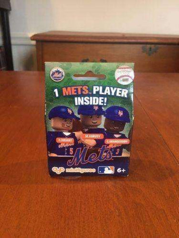 New York Mets MLB Mystery Minifigure Oyo Sports NIB Wright Harvey Granderson