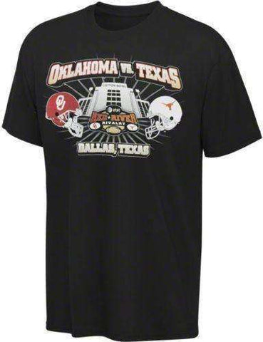 Oklahoma Sooners vs Texas Longhorns Red River Rivalry t-shirt