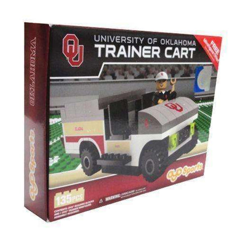 Oklahoma Sooners Trainer Cart Oyo Sports New in Box NCAA NIB 135 Pcs Boomer NIP