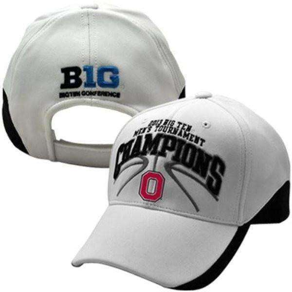 new concept 98dfb 4b0cc Ohio State Buckeyes 2013 Big Ten Men s Tournament Champions Hat by Top of  the World