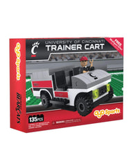 Cincinnati Bearcats Trainer Cart Oyo Sports New in Box NCAA NIB 135 Pcs Cincy